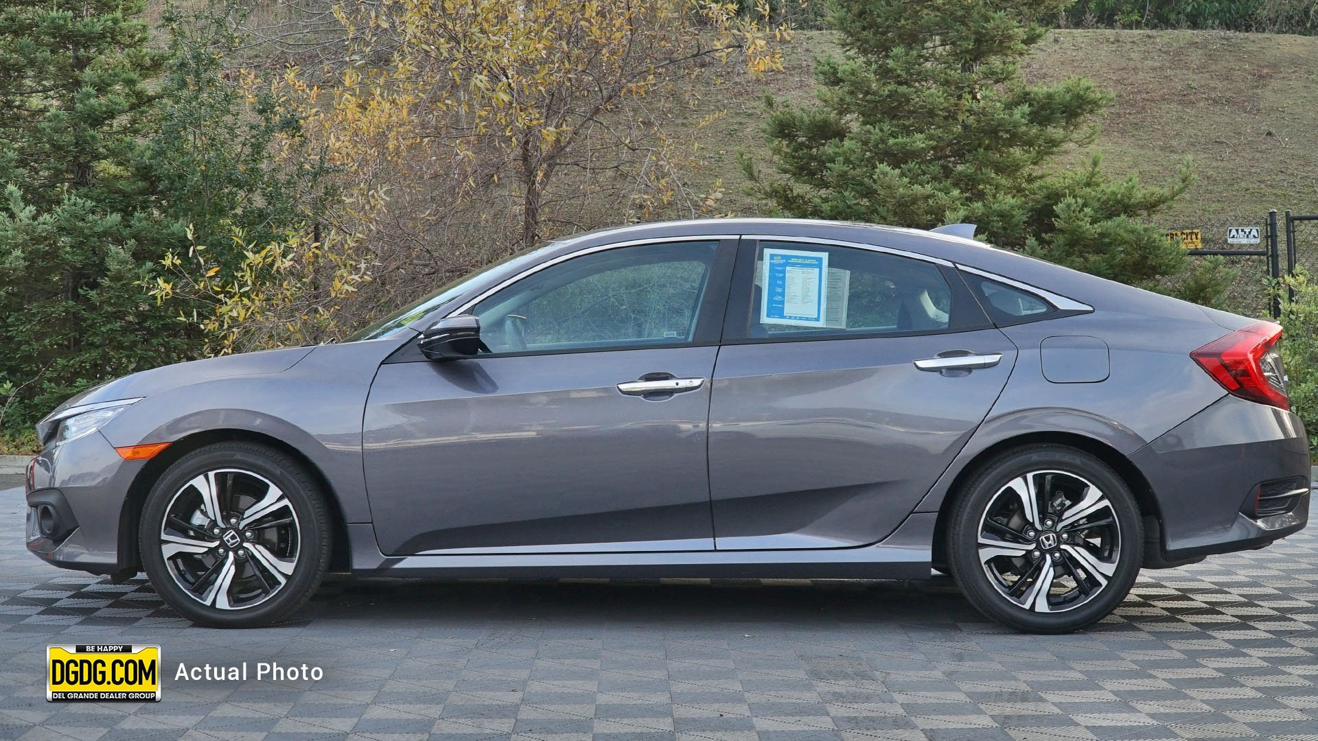 Pre-Owned 2016 Honda Civic Sedan Touring