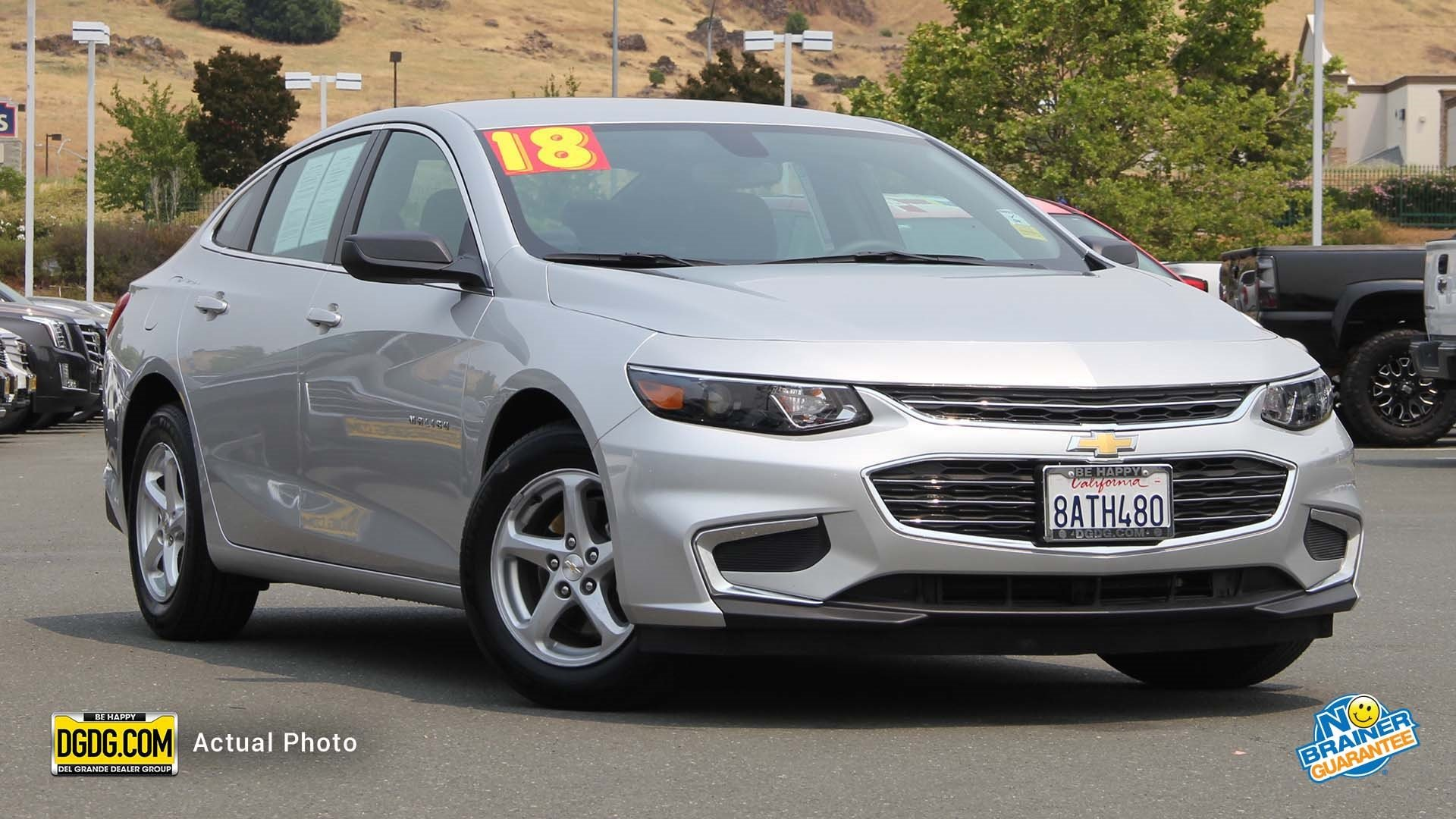 Pre Owned 2018 Chevrolet Malibu LS 4dr Car in Vallejo UT1157X