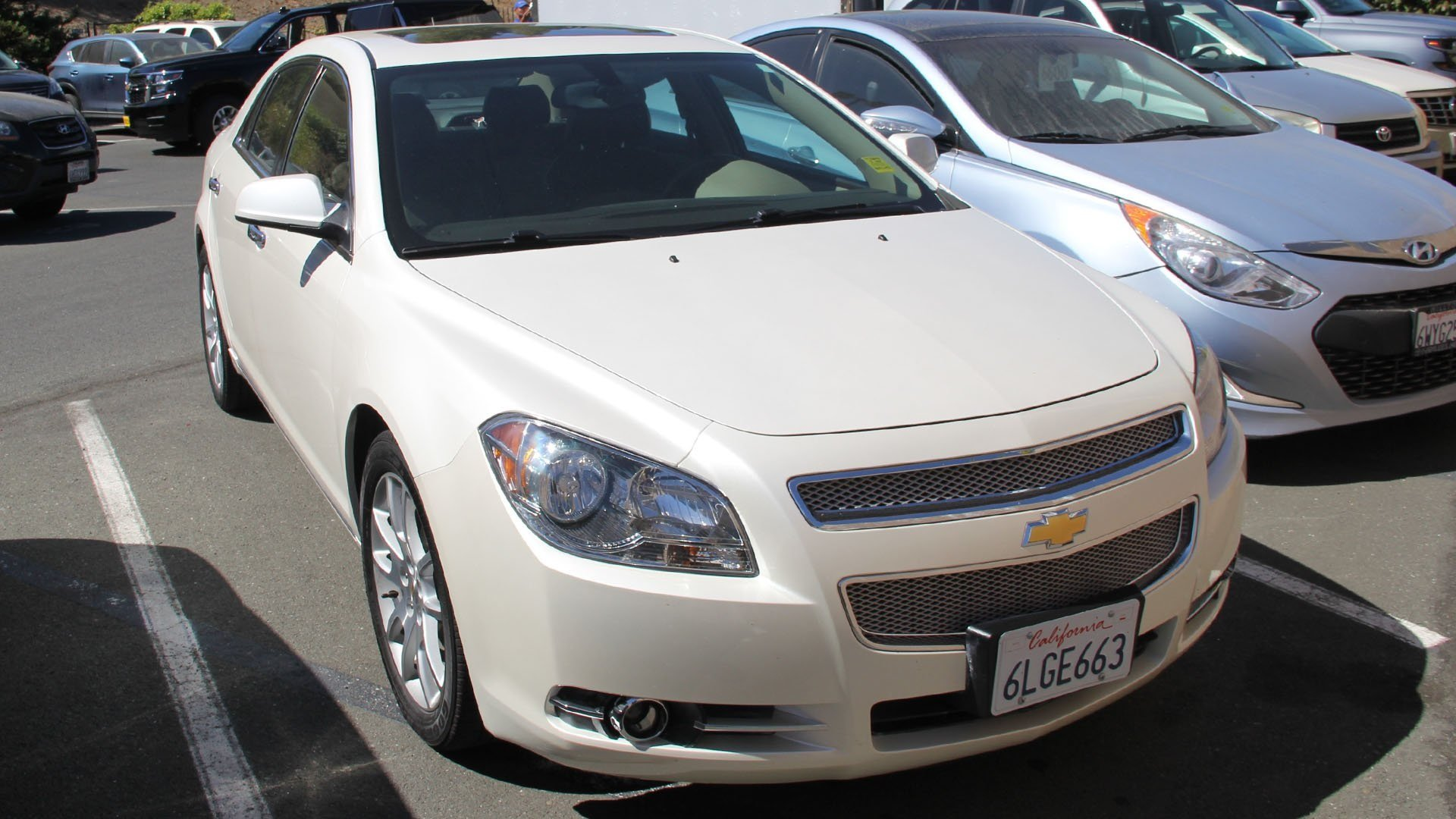 Pre Owned 2010 Chevrolet Malibu LTZ 4dr Car in Vallejo TC2389TA