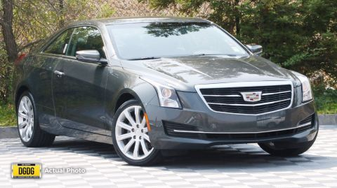 Pre-Owned 2017 Cadillac ATS Coupe RWD
