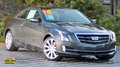 Pre-Owned 2016 Cadillac ATS Coupe Luxury Collection RWD
