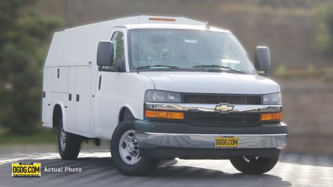 2018 Chevrolet Express Commercial Cutaway Work Van RWD Specialty Vehicle