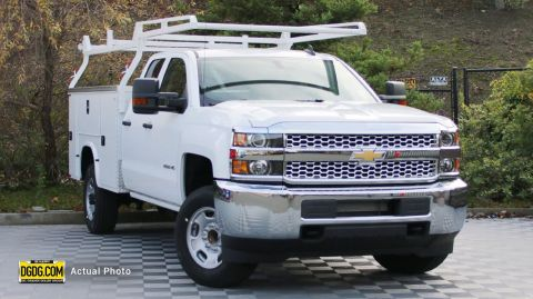 2019 Chevrolet Silverado 2500HD Work Truck RWD Extended Cab Pickup