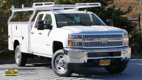 2019 Chevrolet Silverado 2500HD Work Truck Service Body RWD Extended Cab Pickup