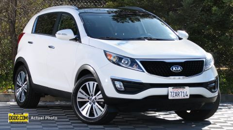 2014 Kia Sportage EX With Navigation